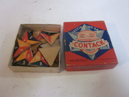 VINTAGE 1939 PARKER BROTHERS INC FAMILY GAME CONTACK - $9.99
