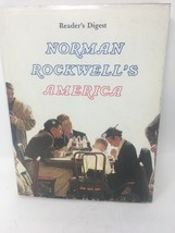 Norman Rockwell's America Book Coffee Table Reader's Digest Hardcover Du... - $16.65