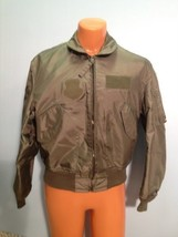 SUMMER AIR FORCE FLYERS COAT JACKET CWU-36/P LARGE  ITEM# B4 - $79.15