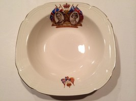 "Vintage Alfred Meakin England ""Queen Elizabeth & King George"" Coronation... - £19.93 GBP"