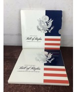1993-S U.S. Bill of Rights Commemorative Coin and Stamp Set SILVER Half ... - $18.70