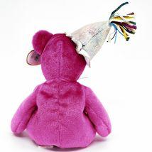 2002 Ty Birthday Beanie Baby January the Pink Teddy Bear Beanbag Plush Toy image 3