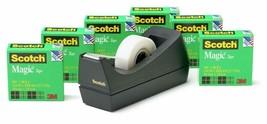 Scotch Brand Magic Tape with Black Dispenser,Engineered,6 Rolls,Free Shi... - €12,76 EUR