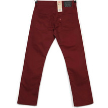 Levis 511 Slim Boys Jeans Size 16 Reg 28 X 28 Syrah Red Maroon - $49.45