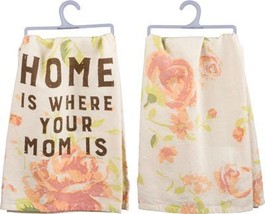 Primitives by Kathy 33061 Rustic Dish Towel, Floral-Home is Where Your M... - €16,10 EUR