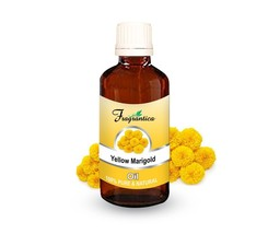 Fragrantica Yellow Marigold Undiluted Natural Pure Uncut Oil 50 ml - $19.93