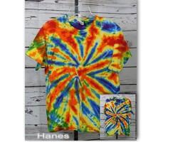 Hanes Tie Dye SS T-Shirt Size: Youth L (14/16)  - $13.00
