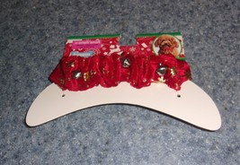 Brand New Dog Christmas Jingle Bell Collar SMALL For Dog Rescue Charity - $7.99