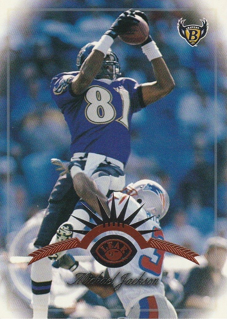 Primary image for 1997 Leaf #54 Michael Jackson
