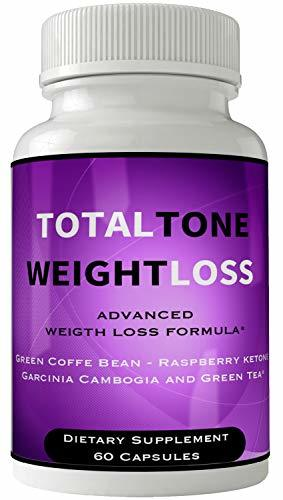 Total Tone Pill with Garcinia Weight Loss Supplement Ultra Diet Pills Capsules f