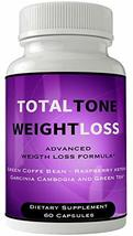 Total Tone Pill with Garcinia Weight Loss Supplement Ultra Diet Pills Capsules f - $39.95