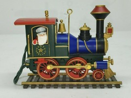 Hallmark 1991 Ed Seale Santa Special Train Motion Ornament, Display Only... - $14.84