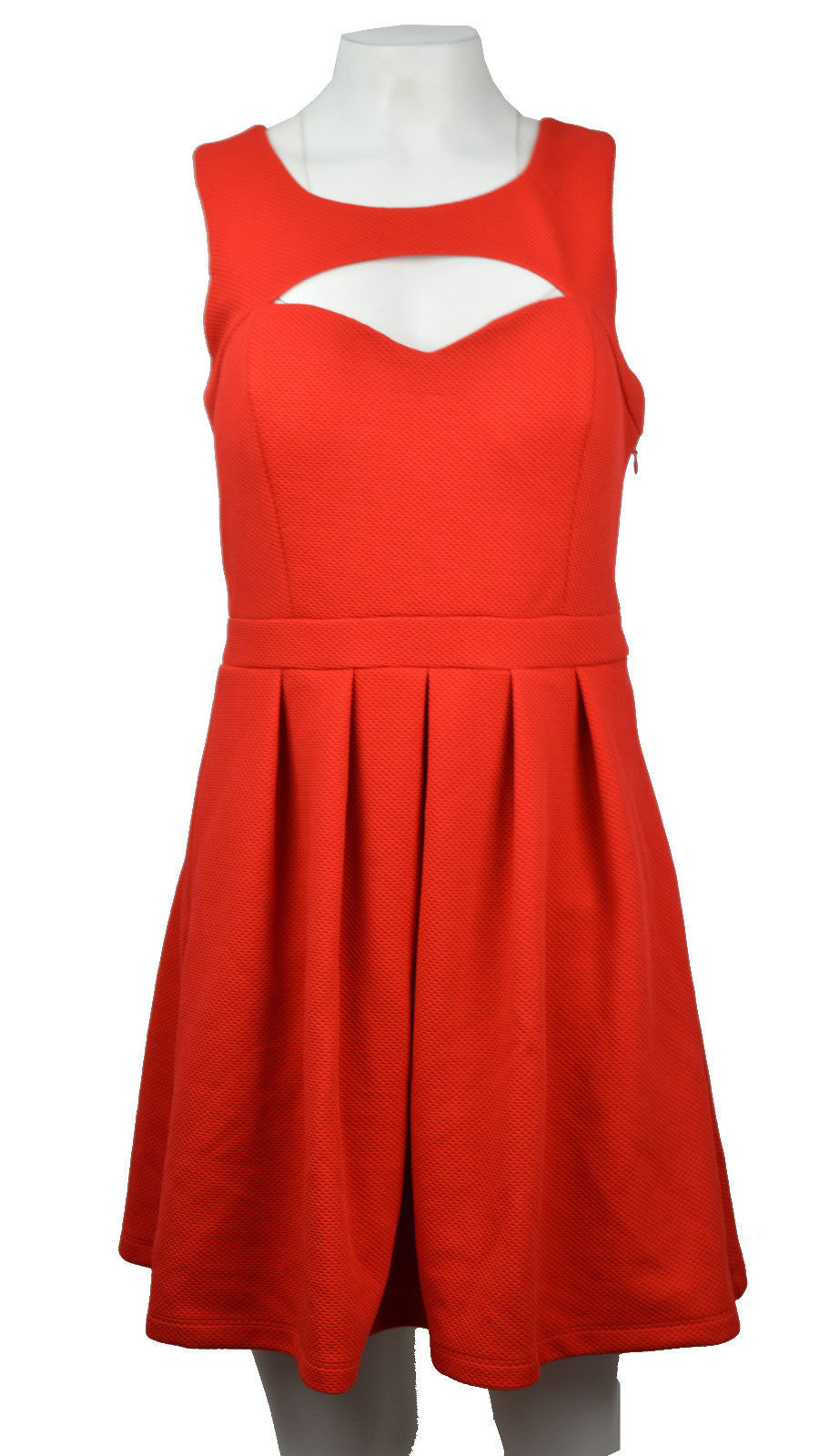 Primary image for Guess Womens Sz 10 Square Neck Sleeveless Red Dress 2357-3