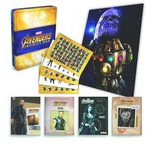 NEW SEALED Marvel Avengers Infinity War Metal Boxed Set of 5 Books - $14.84