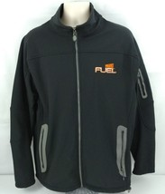 Men's WHEATIES Fuel Breakfast Cereal Full Zip Black Jacket SIZE Large - $21.02