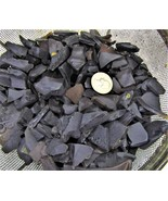 3½ Pounds Dark Brown Sea Glass Vibrated Glass - $10.00