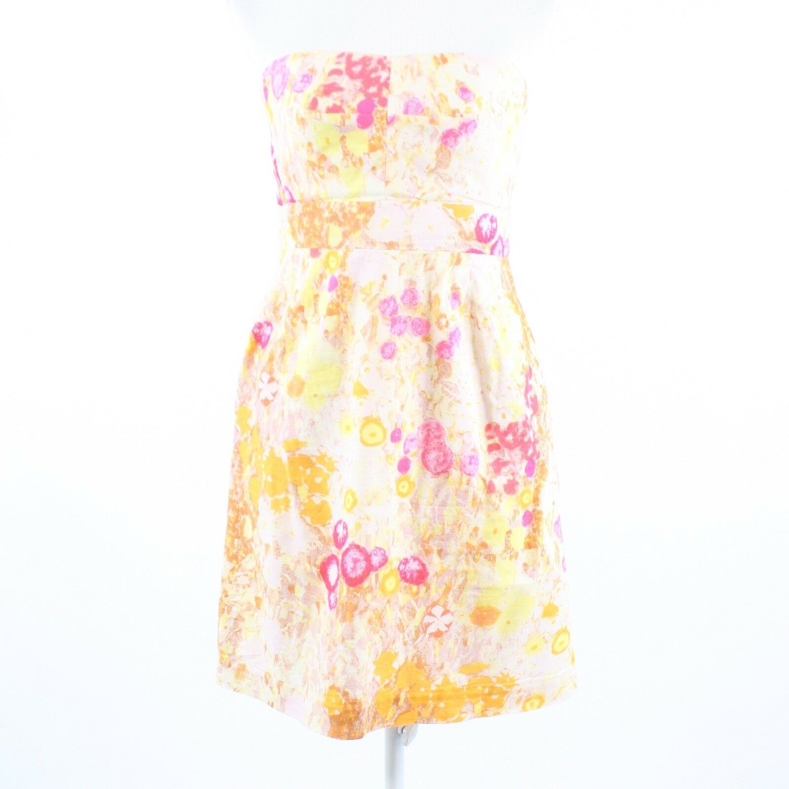 Primary image for Multicolor floral print 100% cotton J. CREW sun dress 6