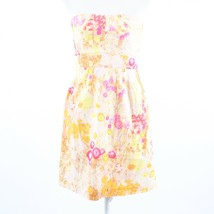 Multicolor floral print 100% cotton J. CREW sun dress 6 - $39.99