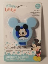 Disney Baby Mouse Pacifier Holder - New - $2.96