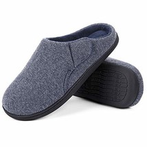 ULTRAIDEAS Men's Comfort Memory Foam Terry Cloth Slippers House Shoes wi... - $20.87