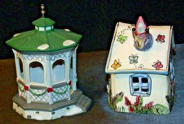 House Village (Candle Holders) AA20-2061 Vintage Pair image 11