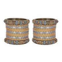 MUCH-MORE Marvelous 40 Pieces of Multicolor Bangles Set with (2.4 Inches... - $26.73