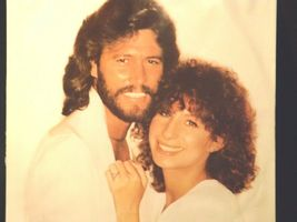 Guilty Record Barbra Streisand ‎– Barry Gibb AA-191751  Vintage Collectible image 10