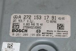 Mercedes Engine Control Unit Module ECU ECM A2721531791 A-272-153-17-91 image 2