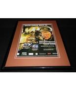 Black Hawk Down 2006 PS2 Framed 11x14 ORIGINAL Vintage Advertisement - $34.64