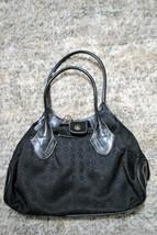 Nine West Black Handbag Bag Purse Magnetic Closure  - $8.79