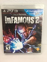 Sony PS3 inFamous 2 Video Game - $7.91