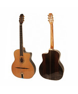 ADM Solid Gypsy Jazz Guitar Oval Hole, with Foam Case.(High Level product) - $797.12