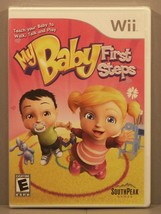 My Baby: First Steps (Nintendo Wii, 2009) Y-Fold Sealed ***Brand New*** - $39.95