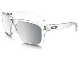 New Oakley Urban Jungle Collection Holbrook Matte Clear w/Chrome Iridium 9102-A2 - $156.75