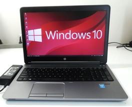 "HP ProBook 650 G1 15.6"" Core i7-4702MQ 2.2GHz 256 SSD 8GB WIN 10P  B'T O... - $382.13"