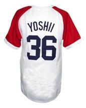 Masato Yoshi #36 Kintetsu Buffaloes Japan Baseball Jersey White Any Size image 2