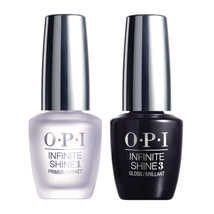 OPI Infinite Shine Gel Effects Nail Lacquer, Primer & Gloss Prostay Duo ... - $26.87