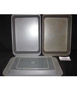 "12"" x 8"" x 2"" set of two metal baking pans - one Baker's Secret, one unb... - $28.59"