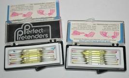 Vintage 80's Perfect Pretenders Perfume Samplers - 16 Vials/Nips - $29.09
