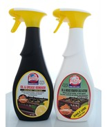 Set of 2: Oven & Grill Cleaner & Degreaser Cold Action, Lemon Daily 27 O... - $27.99