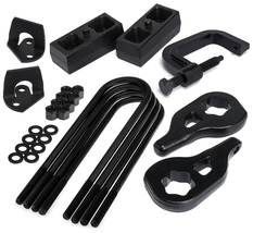 "For 02-05 Ram 1500 Complete 3""Fr + 1.5""Rr Steel Lift Kit + Shock Ext + T... - $259.30"