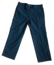 LAUREN Ralph Lauren Women's Size 10 Navy Blue Capri Light Pants - $23.21