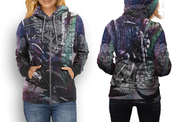 Biker Collection #2 Women's Zipper Hoodie - $49.80+