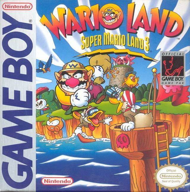Wario Land Super Mario Land 3 Gameboy Great Condition Fast Shipping