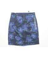 GAP Women's Dark Blue Floral Print Skirt - Size 6 - NWT - $8.99