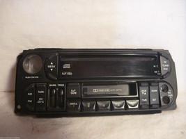 98-01 Dodge Chrysler Jeep Radio CD Cassette Face Plate P56038623AF GE25 - $10.40