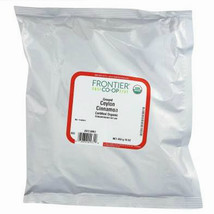 Frontier Herb, Ground Cinnamon Organic 1 lb Bulk powder kosher Ceylon  - $22.99