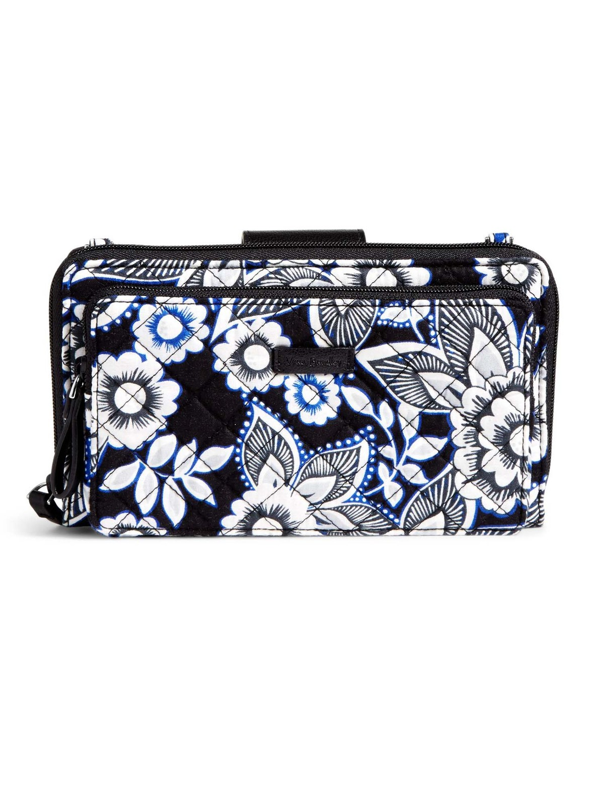 Vera Bradley Iconic Deluxe All Together Crossbody Bag, Snow Lotus