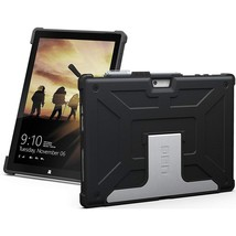 URBAN ARMOR GEAR UAG-SFPRO4-BLK-VP Rugged Case for Microsoft Surface Pro... - $93.31