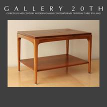 MID CENTURY DANISH MODERN LANE RHYTHM TABLE! 50'S KAGAN RISOM HANS WEGNE... - $1,170.00